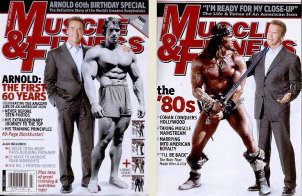 Couverture Muscle and Fitness